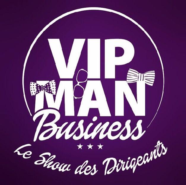 vip man logo